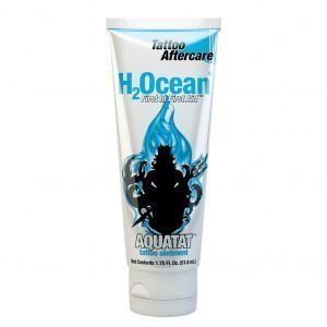 Aquatat tattoo ointment H2Ocean