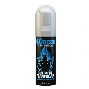 Blue Green Foam Soap H2Ocean